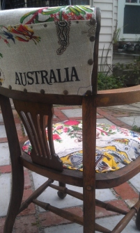 the tablecloth chair - thesecondhandcity.com