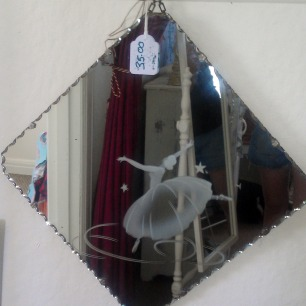 ballerina mirror in the shop