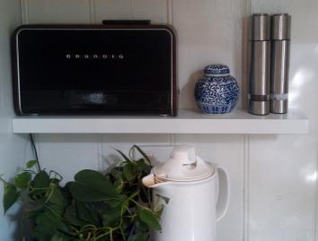Ginger Jar on Shelf