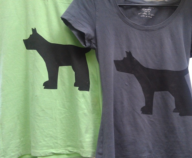 upcycled fido t-shirts - thesecondhandcity.com