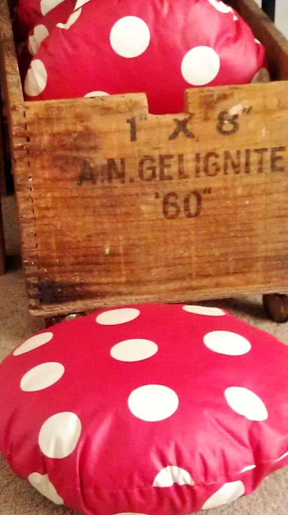 gelignite and toadstools - thesecondhandcity.com