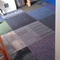 carpet tiles can be fun - thesecondhandcity.com