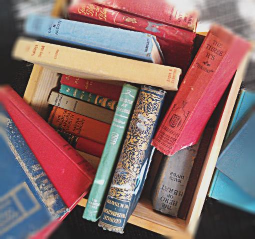 a box of books