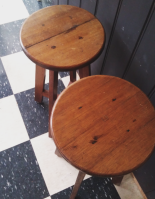 These stools also came from Rosebud - thesecondhandcity.com